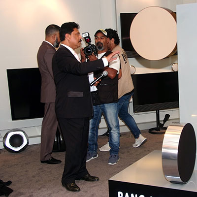 Bang & Olufsen launching event