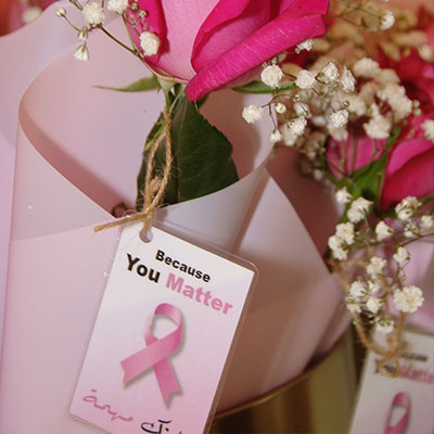 Breast-cancer awareness campaign